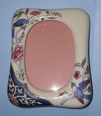 ideal gift amazing photo frame by panda Chinese porcelain vintage retro
