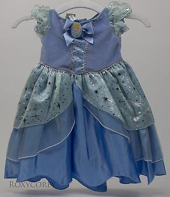Halloween Disney Baby Blue Cinderella Dress Costume Size 6 months NWT (Disney Baby Cinderella Costume)