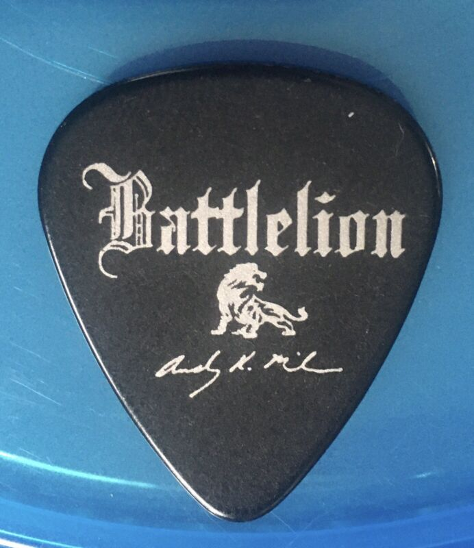 Battlelion Band Hard Guitar Pick
