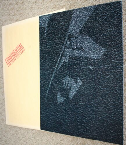 THE SHADOW  BEAUTIFUL BOOK PRESS KIT ALEC BALDWIN