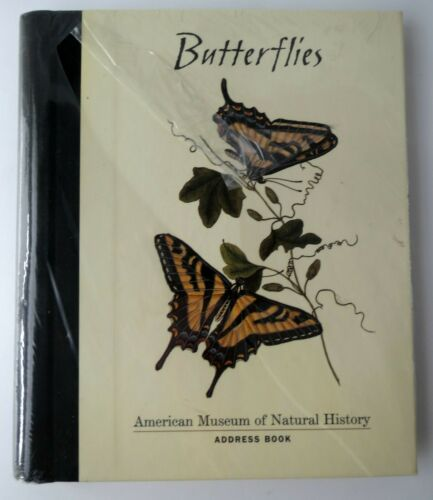 Butterflies Address Book The American Museum Of Natural History NEW Pomegranate
