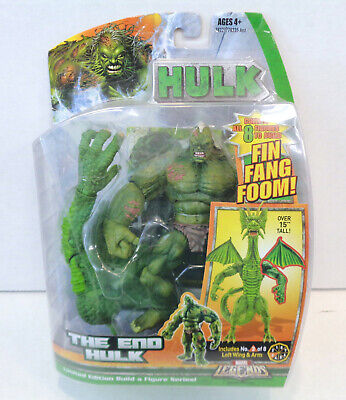 Marvel Legends: The End Hulk Action Figure (2007) Hasbro New Fin Fang Foom BAF