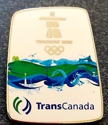 2010 Olympic Vancover   Transcanada Sponsor    Pin