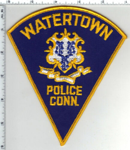 Watertown Police (Connecticut) Shoulder Patch from the 1980