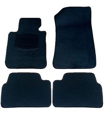 Fußmatten Autoteppich Textilmatten Massgeschnitten NEU 4tlg. für BMW 1er E81 E87
