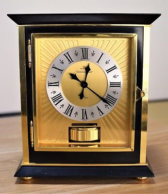 Jaeger LeCoultre Atmos clock Royale Black Mantel, used for sale  Shipping to Canada