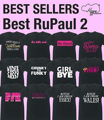 Best RuPaul 2 unisex t-shirt funny gift present Sassy TV LGBT Equality Gift Show
