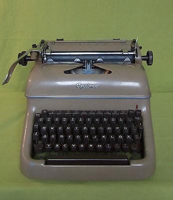 Schreibmaschine - Optima - M12 - guter Zustand - beige