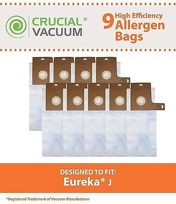9 Eureka J Vacuum Bags Series 2270 & 2900-2920 61515C-6
