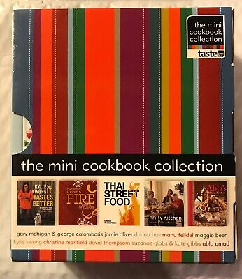 The Mini Cookbook Collection - 10 volumes Mini Cookbook Collection