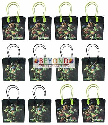 Ninja Turtle Goodie Bags (Ninja Turtles TMNT Goody Bags, Party Favor Goodie Bags Gift Bags Birthday)