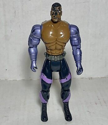 "Vtg 1996 Toy Island Series 2 Mortal Kombat Trilogy 5"" Jax Action Figure Loose"