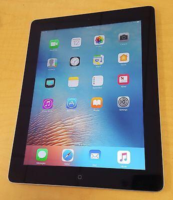 Apple iPad 4 (4th Gen) 32GB Retina Display Wi-Fi Black A1458 Genuine -BEST DEAL!