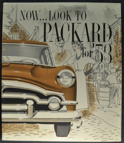 1953 Packard Brochure Patrician Mayfair Cavalier Clipper Excellent Original 53