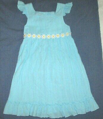 SOPHIE ROSE girls blue boho DAISY CHAIN dress 6 sundress VGUC