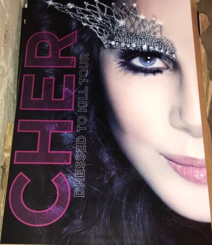 Cher Dressed To Kill Concert Tour Poster Original New 24x36