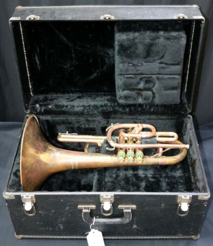 Bach Mercedes Marching Mellophone (Rough Finish But Solid Horn)
