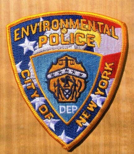 GEMSCO NOS NYC Patch POLICE - ENVIROMENTAL POLICE NYC - NY - VINTAGE V2
