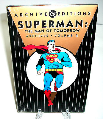 Superman Man Of Tomorrow Vol 2 Dc Comics Archive Edition Hc New Sealed