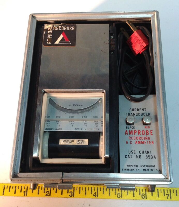 AMPROBE A.C. AMMETER CURRENT TRANSDUCER 850A 105445
