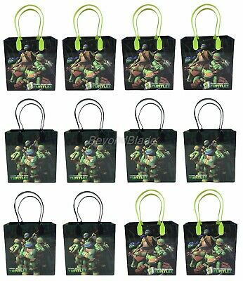 Ninja Turtle Goodie Bags (Teenage Mutant Ninja Turtle Goody Bag Party Goodie Gift Birthday Candy Bags)