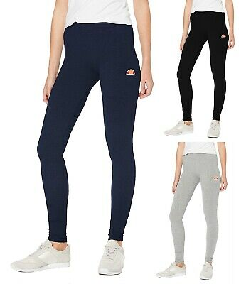 ellesse Womens Leggings Solos 2 Bottoms Logo Sports Ladies Jogging Running Pants