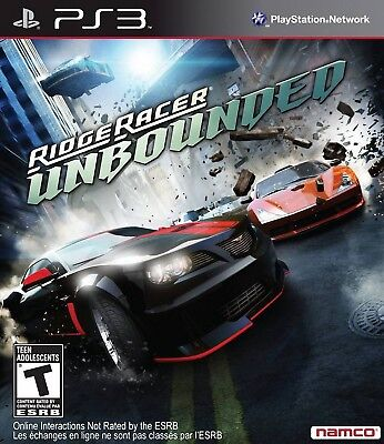 Ridge Racer Unbounded PS3, used for sale  Shipping to India