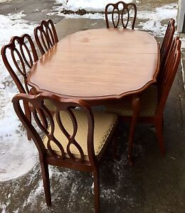 French Provincial Table & Chair Set