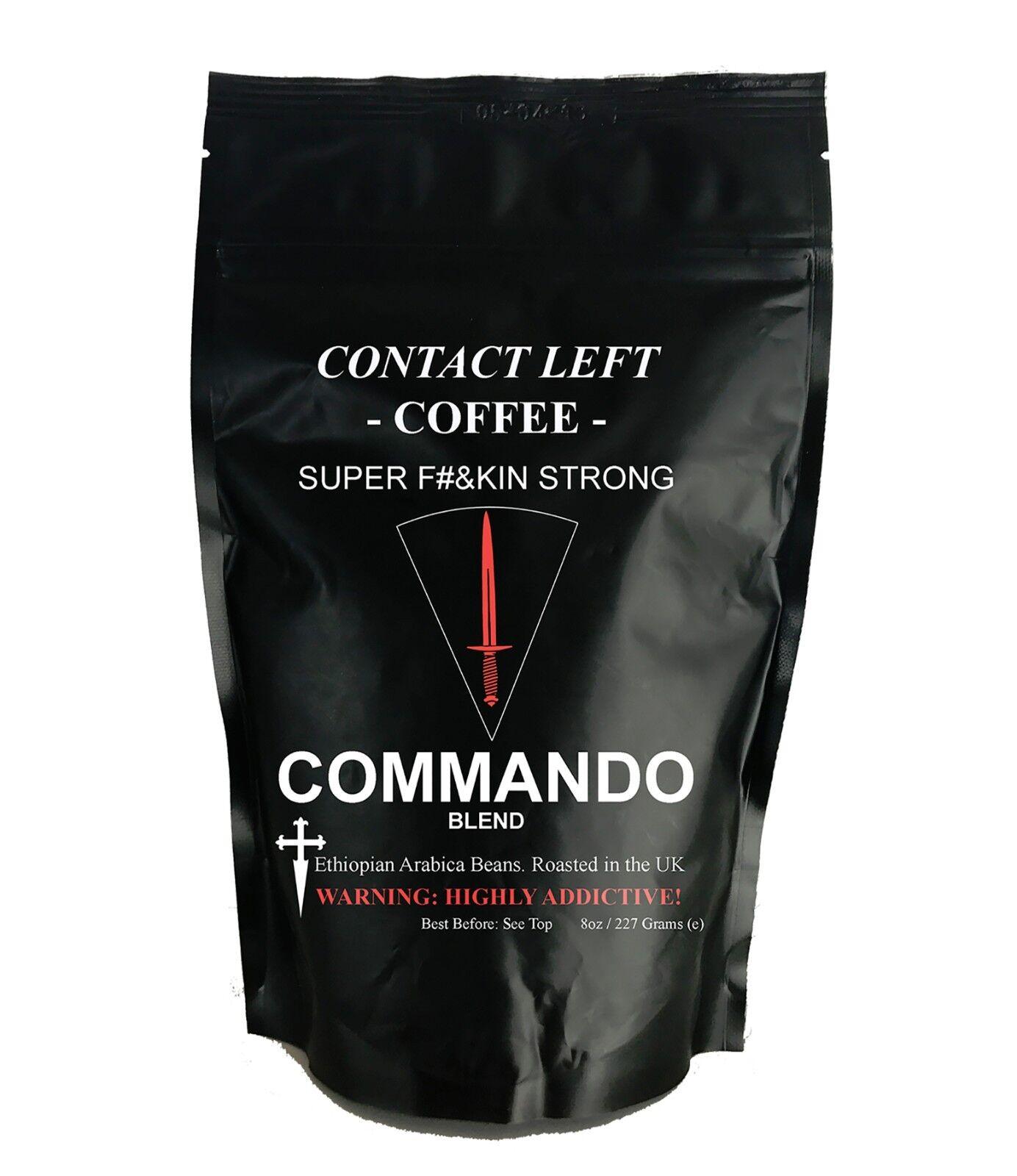 COMMANDO miscela di caffè chicchi ( SCURO arrostire Espresso)