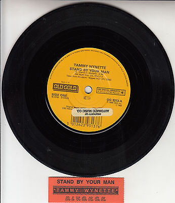 TAMMY WYNETTE Stand By Your Man & D.I.V.O.R.C.E. 7