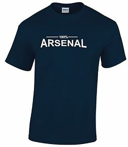 100 arsenal fan t shirts mens ebay for Arsenal t shirts sale
