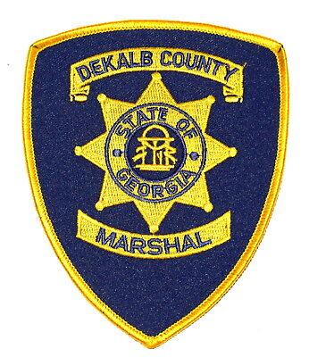 DEKALB COUNTY GEORGIA GA Police Sheriff Patch STATE SEAL COLUMNS LARGE ~