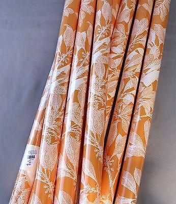 Caskata Studio Gift Wrap AVIARY SUNSHINE White Birds Yellow Paper 2 Sheets NEW