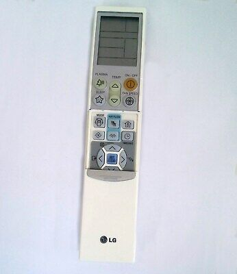 LG Air Conditioner Remote Control  + holder, original  ,AKB35149807