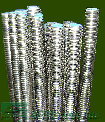 "1/4""-20 x 3' Stainless Steel Threaded Rod - 5 Pcs on Rummage"
