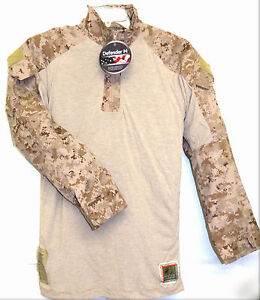 NWT USMC Frog Combat Digital Desert Marpat Blouse Size Medium Regular