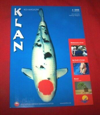 Klan Koi Magazin 2008 Nr  4 , 16. Jahrgang , Internationales Nishikigoi Magazin