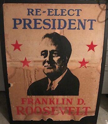1933-45 Франклин RARE Original Franklin D