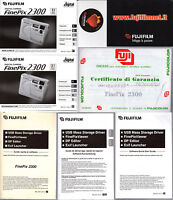 Manuali User Guide-macchina Fotografica Fuji Film Finepix 2300 Guide Software ++ - fuji film - ebay.it