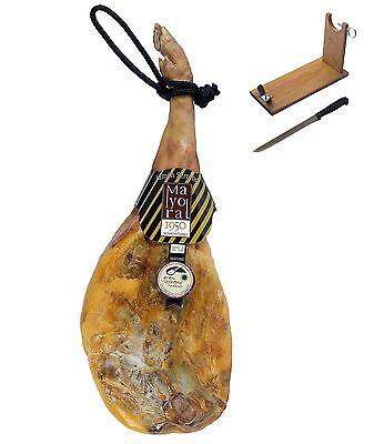 Serrano Schinken Gran Reserva Mayoral + Schinkenhalter + Messer (7.50-8kg)