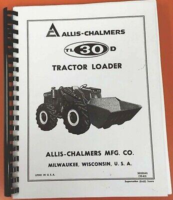 Allis Chalmers Tl30d Tractor Loader Parts-3033343