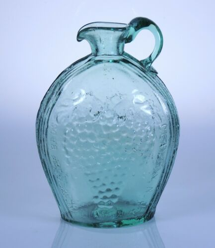 Eagle & Grape Jug Historical Flask by Allie Clevenger South Jersey glass in book