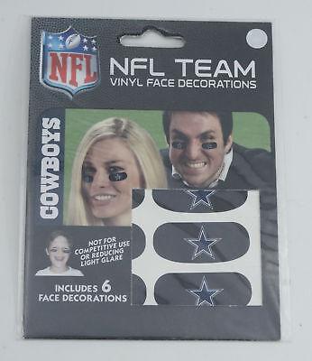 Dallas Cowboys Team Logo NFL Eye Black Strips (3 - Pair)