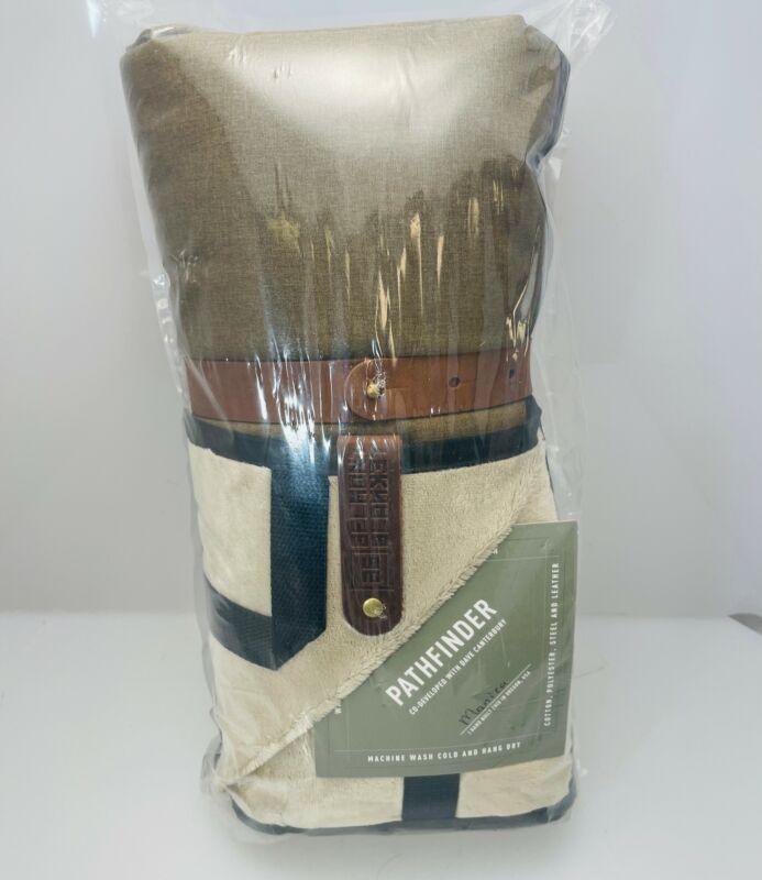 Belmont Blanket Pathfinder Brown with Black Trim