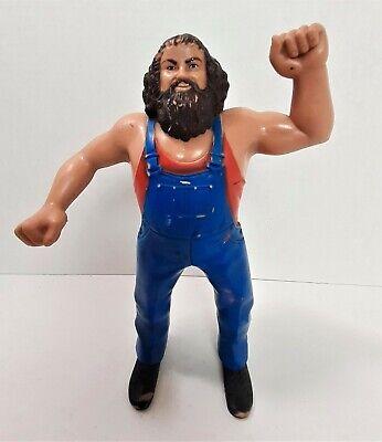 Hillbilly Jim Rubber Wrestling Action Figure WWF Titan Sports WWE 1984 LJN *204
