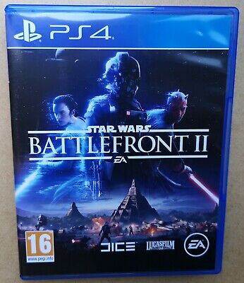 Star Wars Battlefront II 2 PS4 Play Station 4 UK PAL Excellent Condition