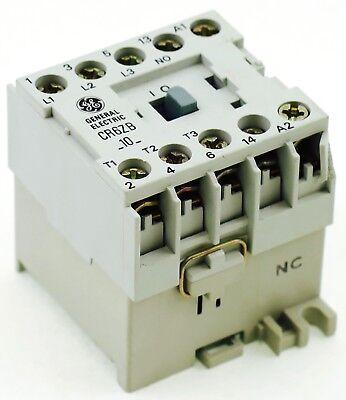 New Ge Miniature Din Rail Magnetic Contactor Cr6zbm 48vdc Coil Ca4-9c-10-48d 1no
