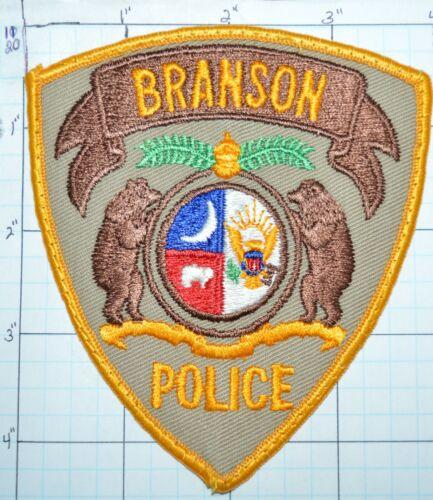 MISSOURI, BRANSON POLICE DEPT VINTAGE PATCH