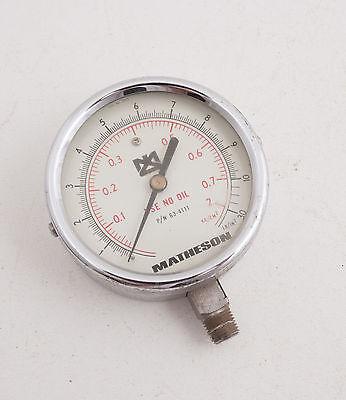 Matheson Gauge 0-30 Lb In2 C5l Steampunk Regulator Pn63-4111 Chrome