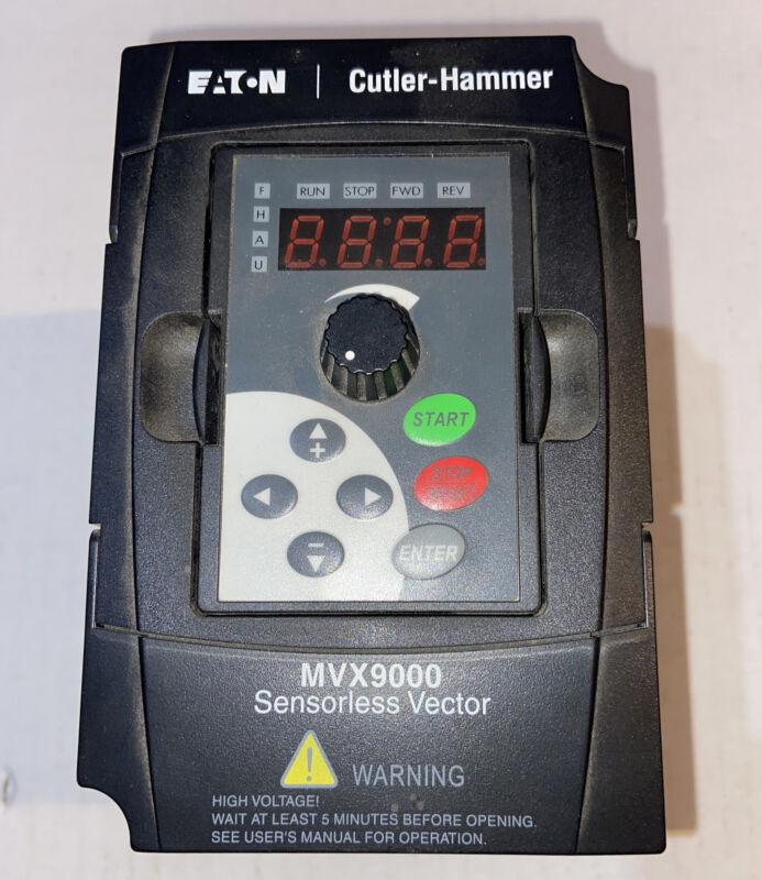 EATON C-H MVX9000 VFD output: 3 phase 2HP 0-480VAC 4 Amp MVX002A0-4  New no box